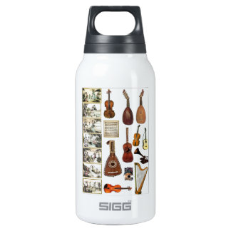 Musical moments insulated water bottle