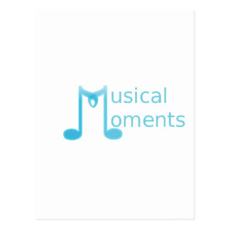 Musical Moments Postcard