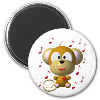 Musical monkey magnet