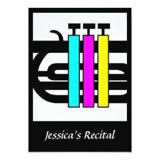 Musical Musician Keys Announcements Invitations Re