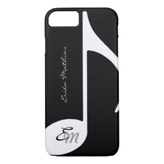 musical note ~ add initial iPhone 7 case