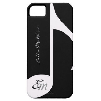 musical note ~ add initial iPhone SE/5/5s case