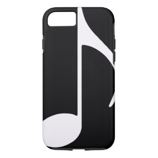 musical note ~ black iPhone 7 case