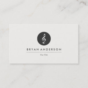 Music business cards 8000 music business card templates musical note business card reheart Choice Image