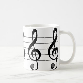 Musical Note Classic Mug