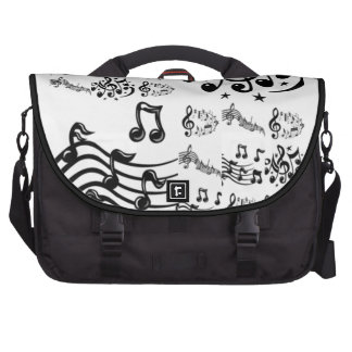 Musical Note Collage - AWESOME! Bags For Laptop