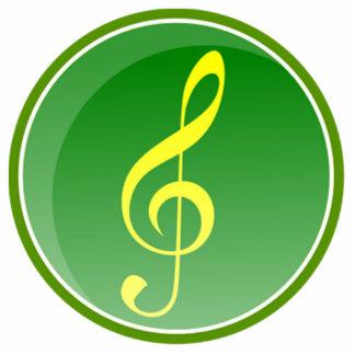 Musical Note Cutout