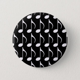 musical note graphic symbol button