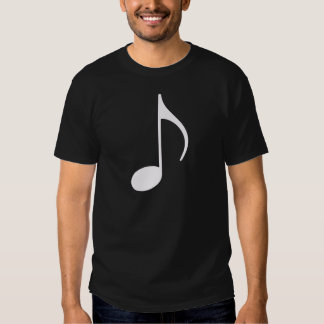 musical note graphic symbol t shirt