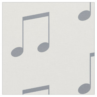 Musical Note Pattern Fabric