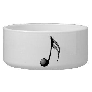 Musical Note Pet Food Bowl