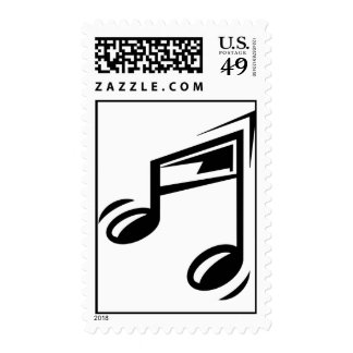 Musical Note Postage