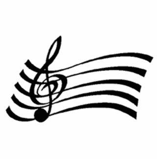 Musical Note Statuette