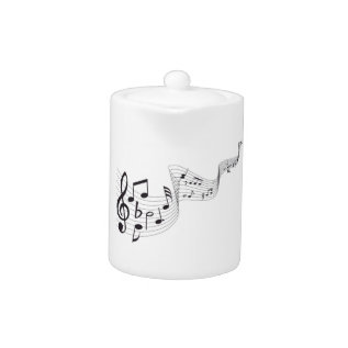 Musical Note Tea Pot at Zazzle