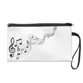Musical Note Wristlet