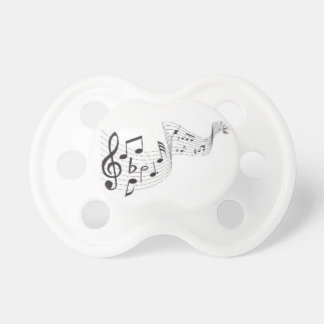 Musical Notes, 0-6 months BooginHead® Pacifier