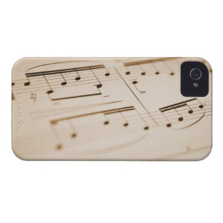 Musical Notes 2 iPhone 4 Case