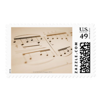 Musical Notes 2 Postage
