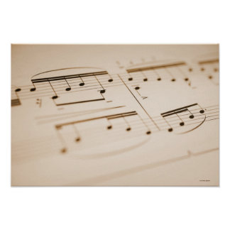 Musical Notes 2 Poster