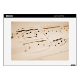 Musical Notes 2 Skin For Laptop