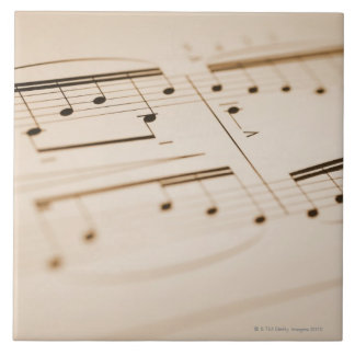 Musical Notes 2 Tile