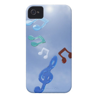 Musical Notes 3 iPhone 4 Case