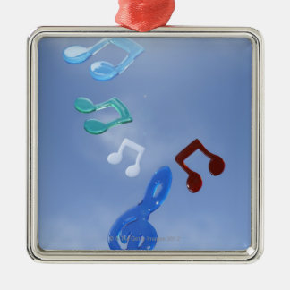 Musical Notes 3 Metal Ornament