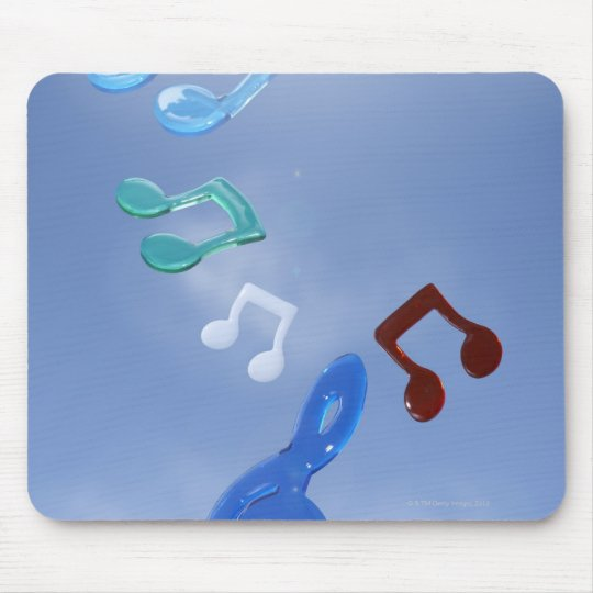 Musical Notes 3 Mouse Pad