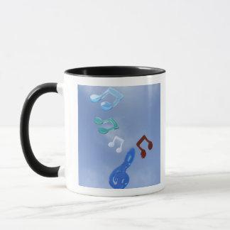 Musical Notes 3 Mug