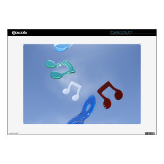 Musical Notes 3 Skins For Laptops