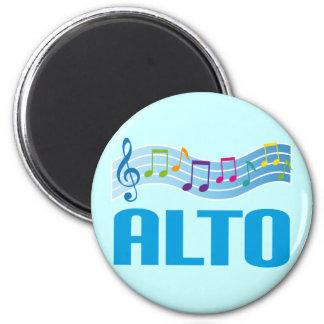 Musical Notes Alto Singer Choir Gift Magnet