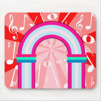 Musical Notes Archway Mouse Pad