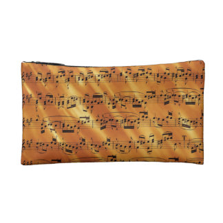 Musical Notes Makeup Bag