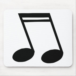 Musical Notes Beamed Semiquavers Mouse Pad