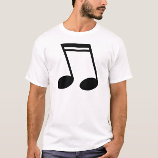 Musical Notes Beamed Semiquavers T-Shirt