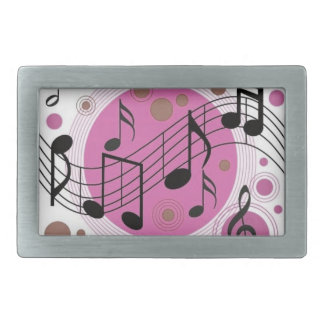 Musical Notes Belt Buckle