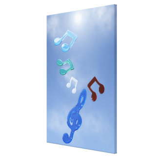 Musical Notes Canvas Prints