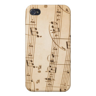 Musical Notes  Case For iPhone 4