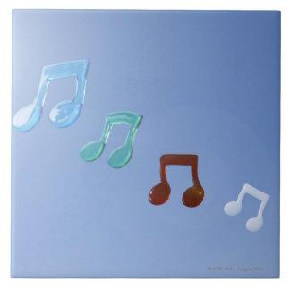 Musical Notes Ceramic Tile