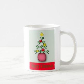 Musical Notes Christmas Mug