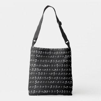 Musical Notes Crossbody Bag