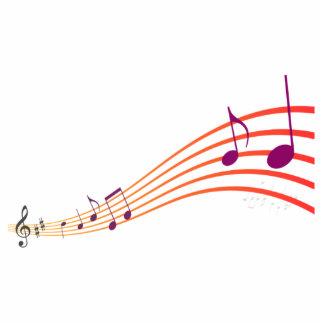 Musical Notes Cutout