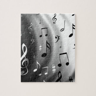 Musical Notes Design Jigsaw Puzzles