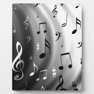 Musical Notes Design Plaque