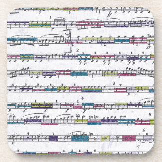 musical notes grunge backgrounds music coasters