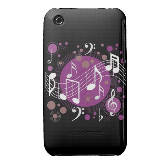 Musical Notes iPhone 3 Cover