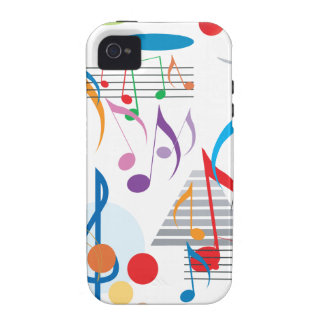 Musical Notes iPhone 4/4S Covers