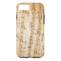 Musical Notes iPhone 6 case