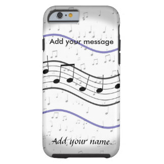 """""""Musical Notes"""" iPhone 6 Vibe Tough iPhone 6 Case"""