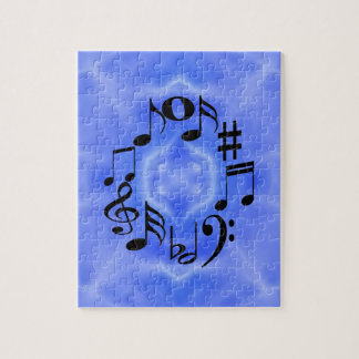 Musical Notes Jigsaw Puzzles